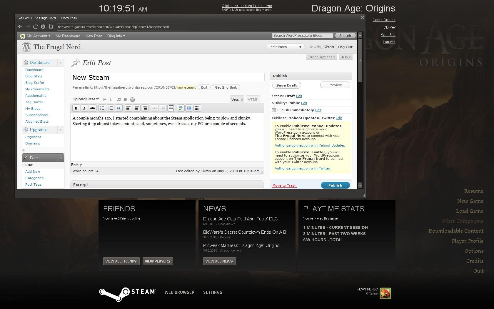 New Steam   The Bargain Bin Gamer